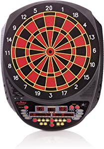 """Arachnid Inter-Active 3000 Recreational 13"""" Electronic Dartboard Features 27 Games with 123 Variation for up to 8 Players"""