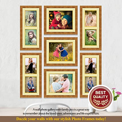 Buy IMAGINATIONS ARTS & FRAMES GALLERY Wall Collage Gold Colour ...