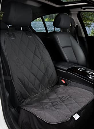 Amazon Com Barksbar Pet Front Seat Cover For Cars Black