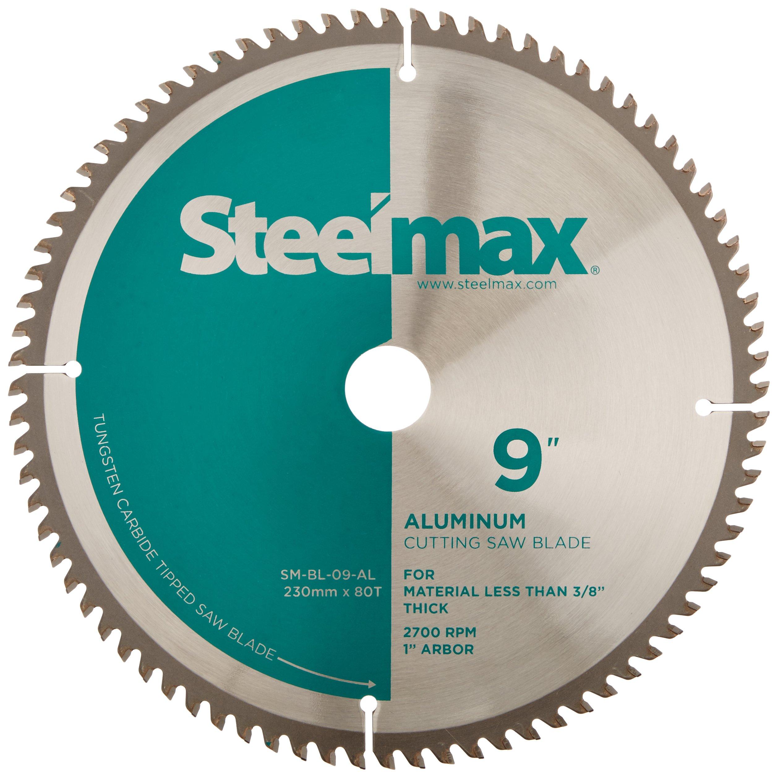 Steelmax 9'' TCT Blade for Aluminum