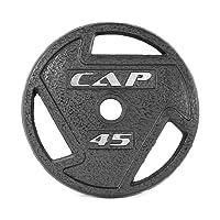 CAP Barbell 5,08 cm Placa de Agarre olímpicas