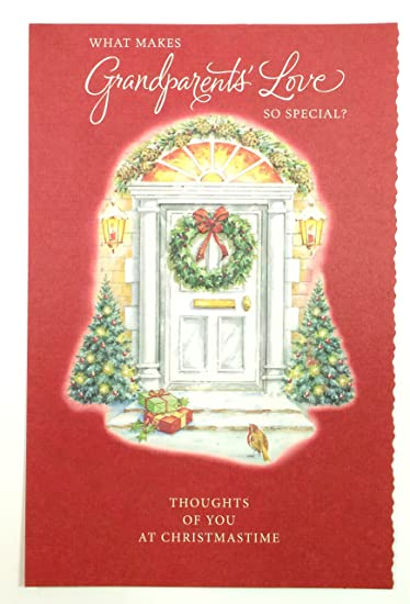 Amazon.com: Christmas Cards for Grandparents (What makes ...