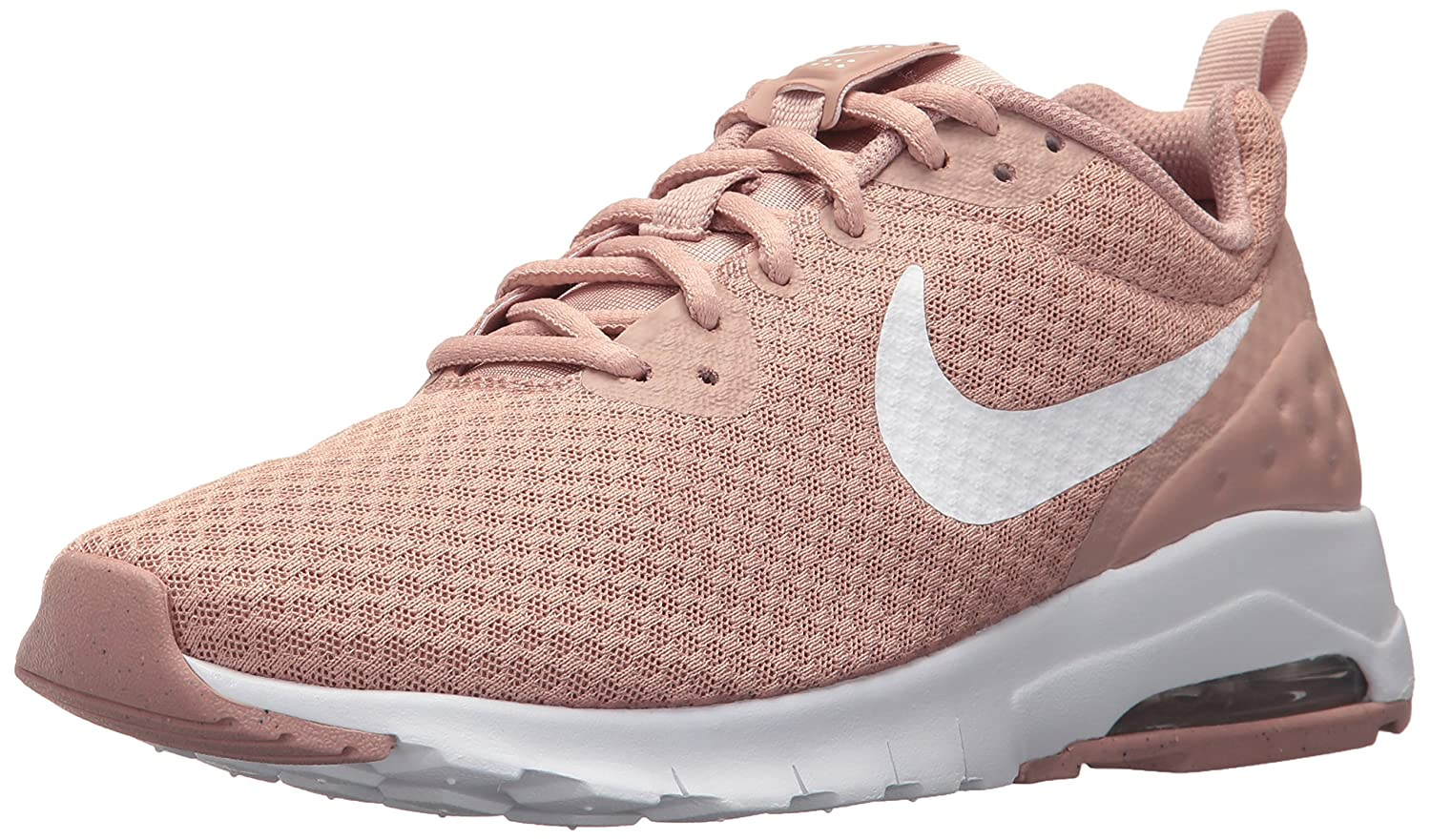 NIKE Women's Air Max Motion Lw Running Shoe B074THX5GN 9 B(M) US|Particle Pink/White