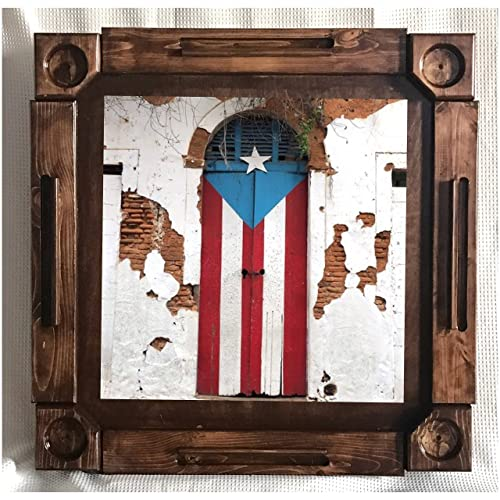 Wooden/wood Dominoes/domino Table/mesa Custom Made Puerto Rico