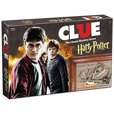 USAOPOLY Clue Harry Potter Board Game | Travel Through Hogwarts Castle to Solve the Mystery | Official Harry Potter Licensed Merchandise | Harry Potter Themed Board Game | Gift for Harry Potter Fans: Game: Toys & Games