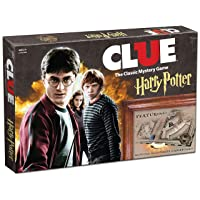 USAOPOLY Clue Harry Potter Board Game | Travel Through Hogwarts Castle to Solve...