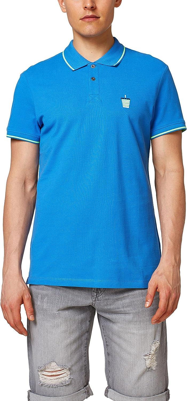 edc by Esprit 058cc2k021, Polo Hombre, Azul (Blue 430), X-Large ...
