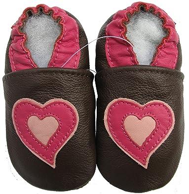 Amazon.com: Carozoo zapatillas de suela y piel suave zapatos ...