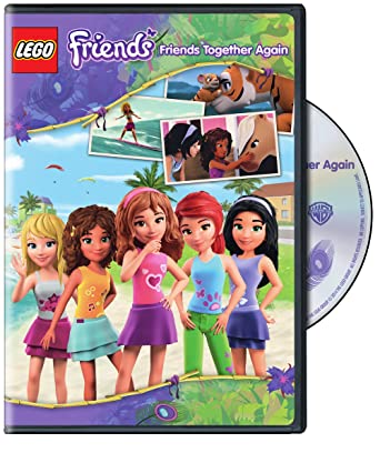 Amazoncom Lego Friends Friends Together Again Dvd Mads Munk