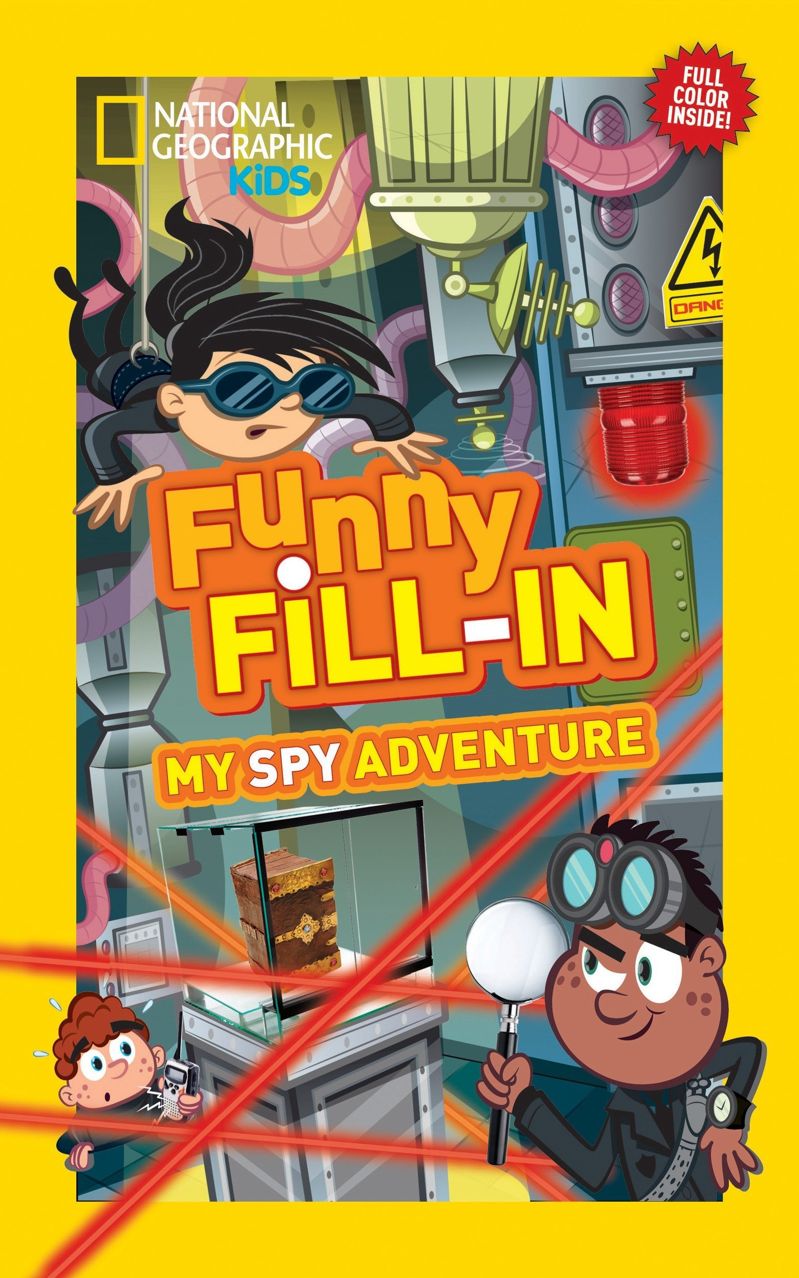 Download National Geographic Kids Funny Fill-in: My Spy Adventure (National Geographic Kids Fill-In) PDF