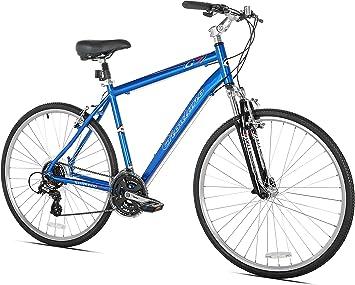 GIORDANO G7 Hombre Bicicleta híbrida, Hombre, Azul: Amazon.es ...