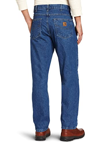 1c7d0457912 Carhartt Men's Five Pocket Tapered Leg Jean at Amazon Men's Clothing store: