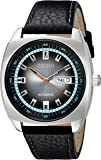 Seiko Men's SNKN01 Analog Display Japanese Automatic Black Watch