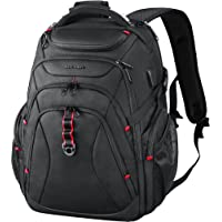 KROSER Travel Laptop Backpack 17.3 Inch XL Heavy Duty Computer Backpack with Hard Shell Saferoom RFID Pockets Water…