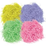 Gift Boutique Easter Basket Grass 16 oz Green Pink Purple and Yellow