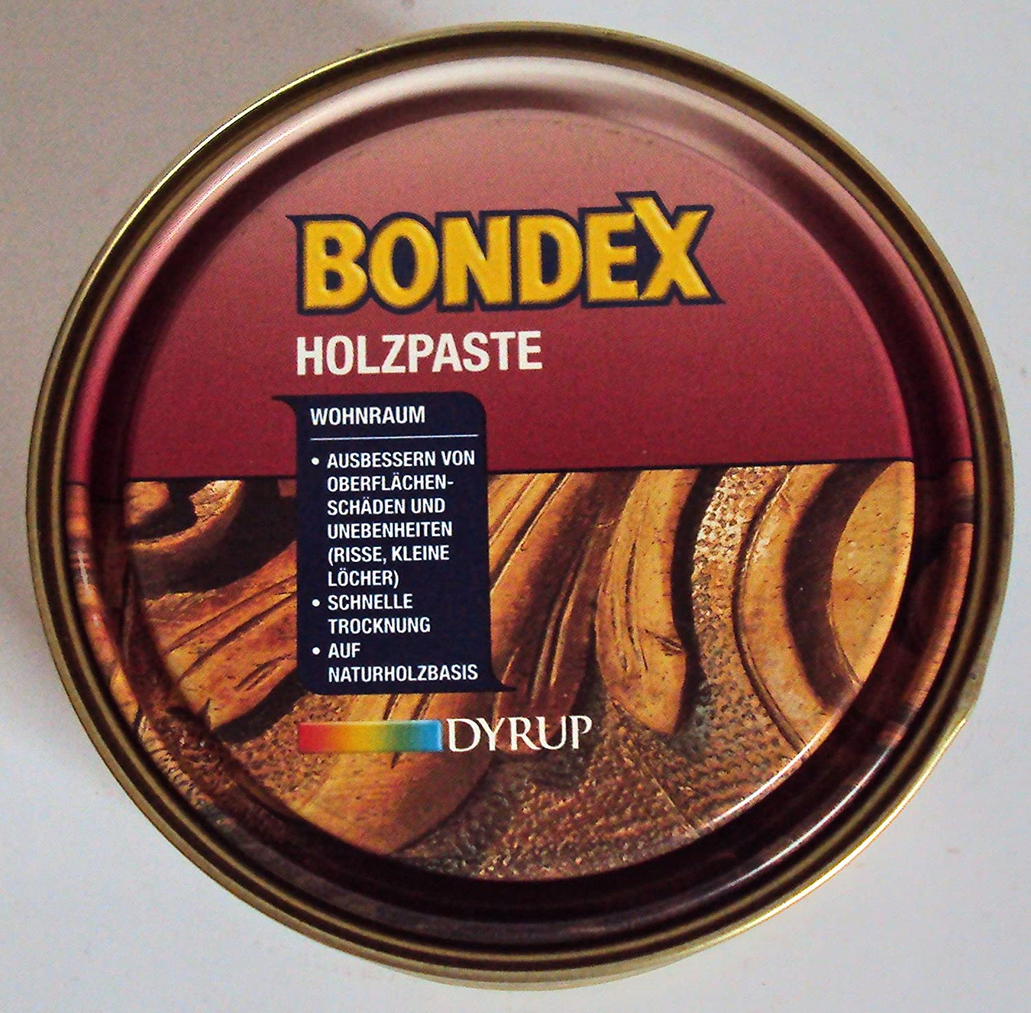 Bondex Interior Wood Paste F.D. Living Room, Ash Beech 7057/250  g Ash Beech 7057/250 g Dyrup