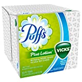 Puffs Plus Lotion With The Scent of Vicks Facial