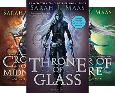 Throne Of Glass Series (7 book series) Kindle Edition