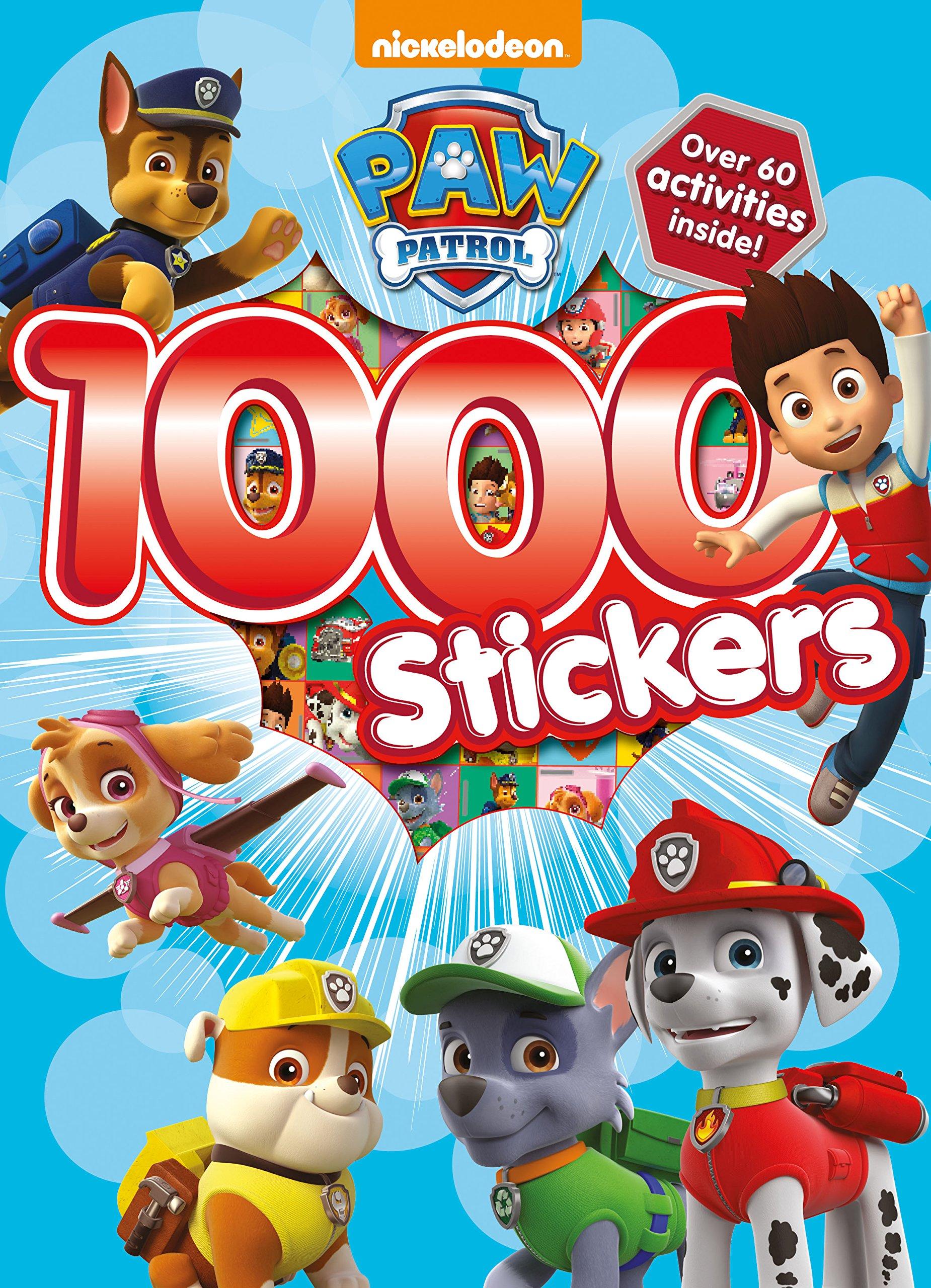 Nickelodeon Paw Patrol 1000 Stickers Parragon