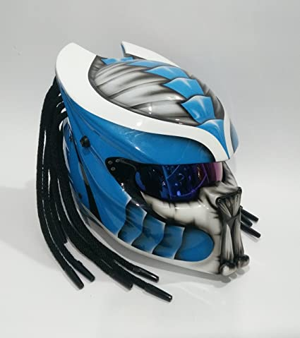 ce68bbd0 Amazon.com: Pro Predator Helmet Custom Predator Motorcycle DOT ECE Helmets  SY07 Model (L): Automotive
