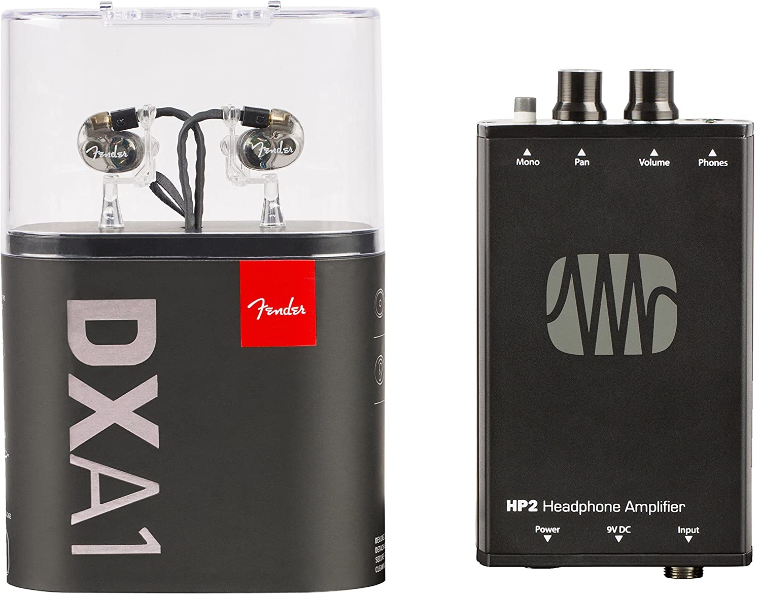 Fender mxa1 IEM Bundle - dxa-1 y HP2 amplificador: Amazon.es ...