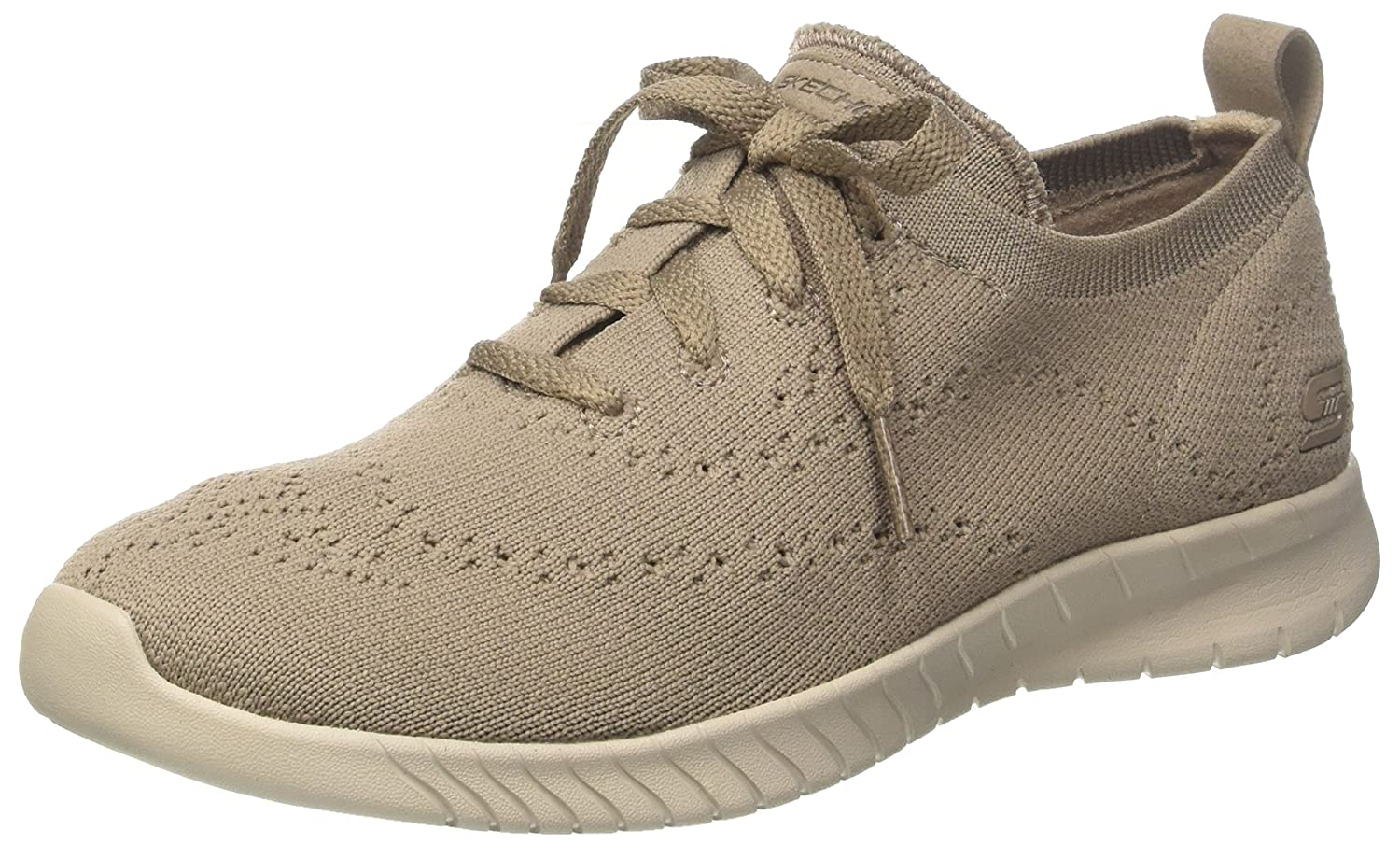Taupe Skechers Women's Wave-Lite Fashion Sneakers