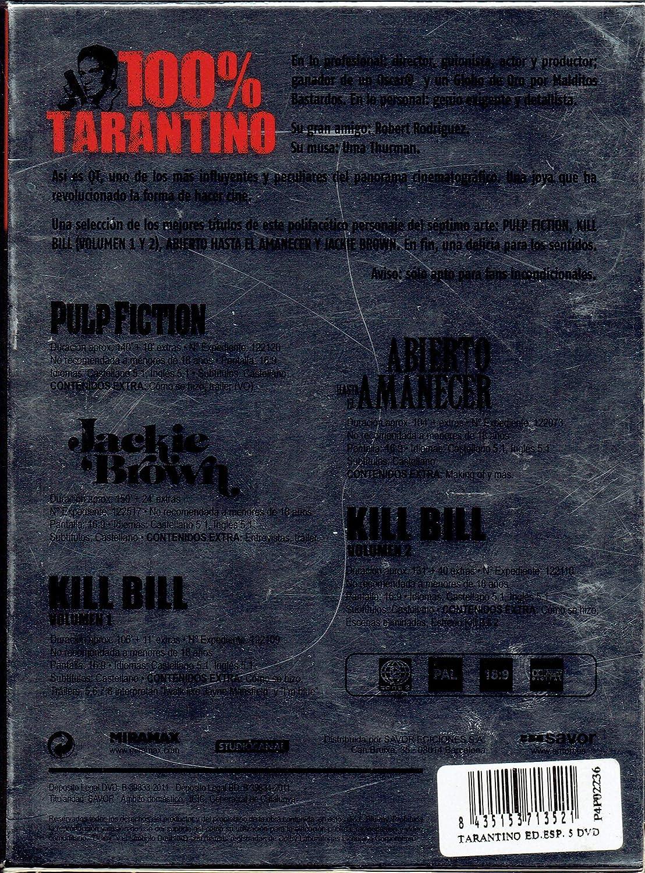100 % Tarantino (Edición Exclusiva Dvd): Amazon.es: John Travolta ...