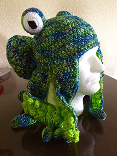 Amazon Com Octopus Hat Octopus Beanie Octopus Cosplay Octopus
