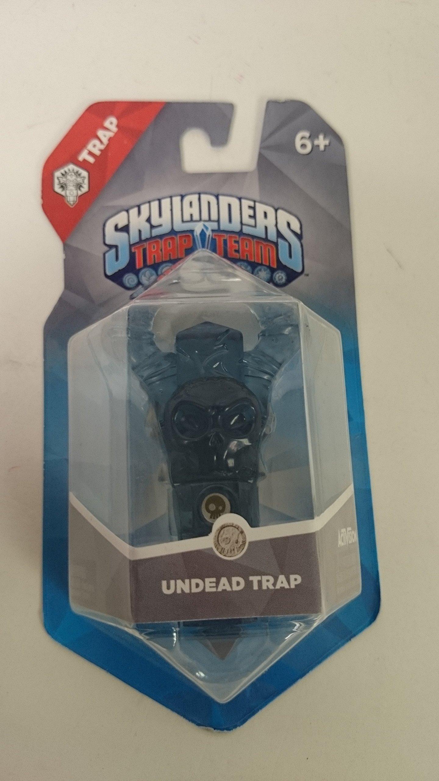 Skylanders Trap Team Trap Crystal Undead Skull