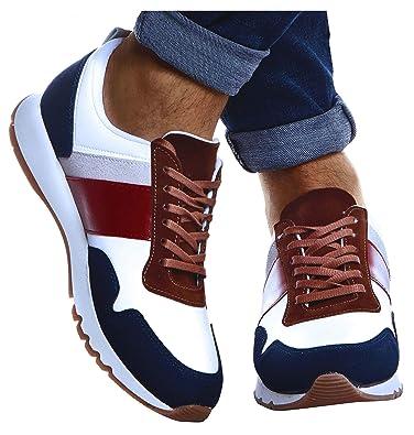 Leif Nelson Herren Schuhe für Freizeit Sport Freizeitschuhe