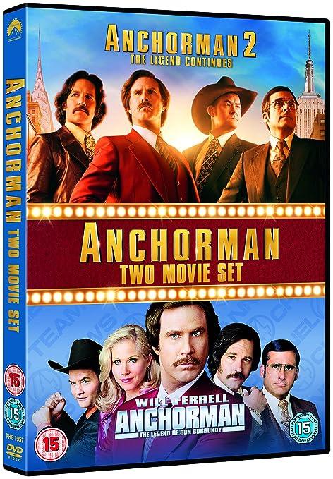 Anchorman 1 Anchorman 2 Repack 2 Dvd Edizione: Regno Unito ...