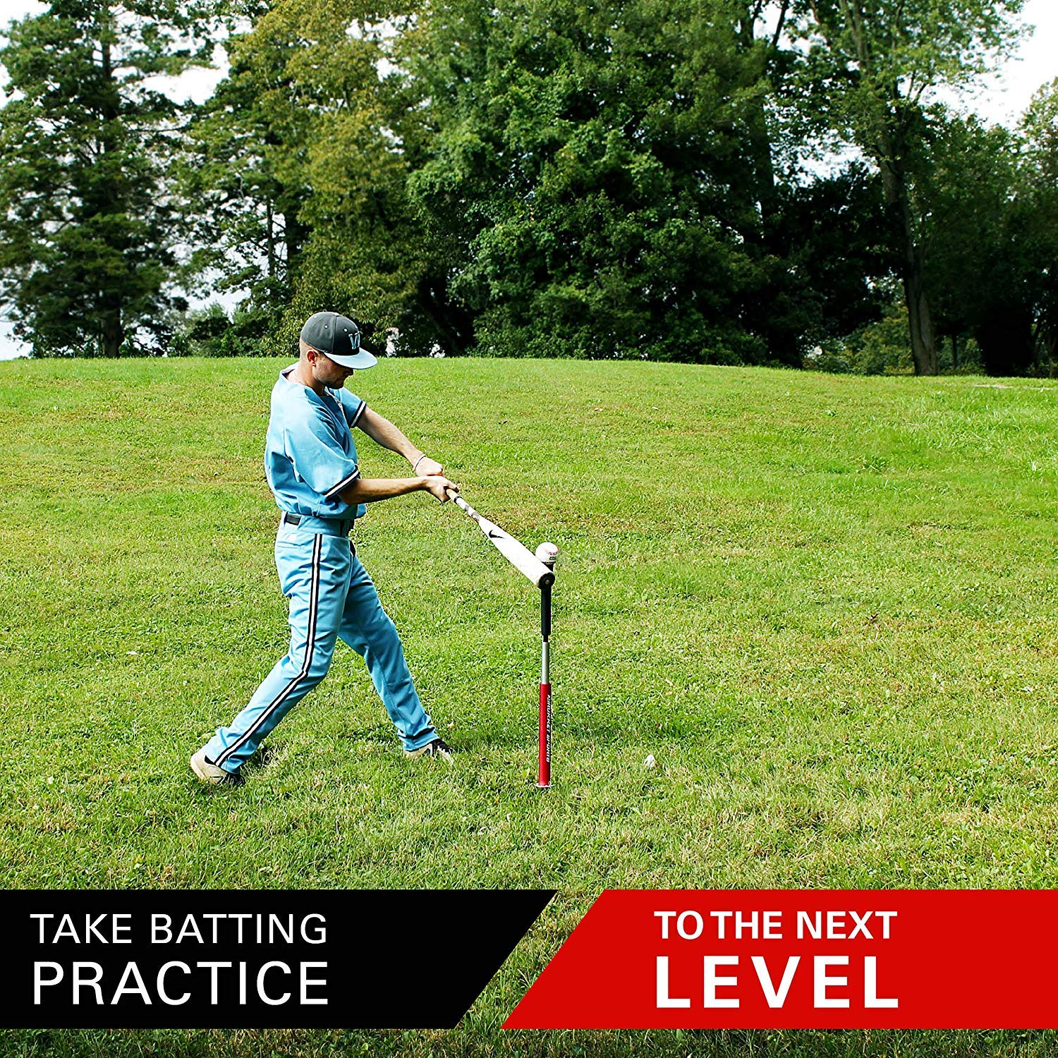Rukket Baseball//Softball Batting Tee Pro Professional /& Adjustable Equipment with Carry Bag Portable /& Heavy Duty Practice Tees for Indoor /& Outdoor Training