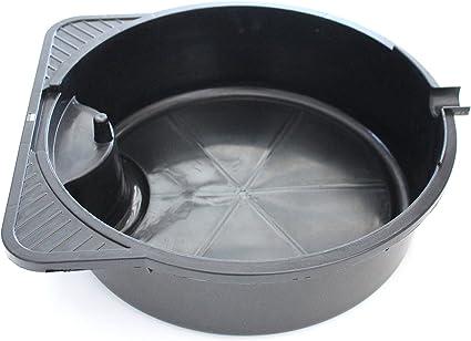 DWG – drenaje de aceite Pan, 8,5 Quart capacidad W/DWG – 4 Quart Embudo – 6
