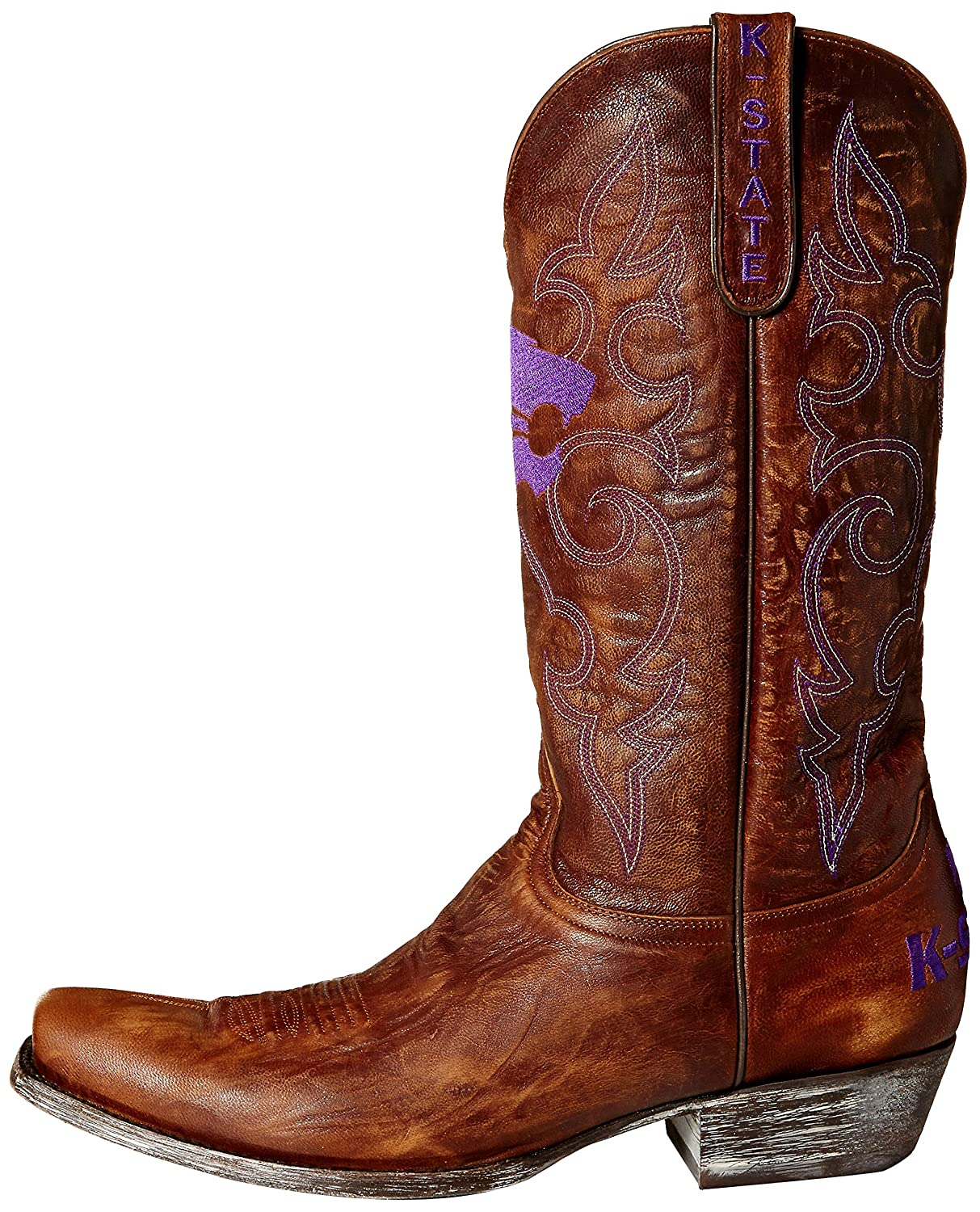NCAA Kansas State Wildcats Men's Board Room Style Stiefel, Stiefel, Stiefel, Brass c8e584