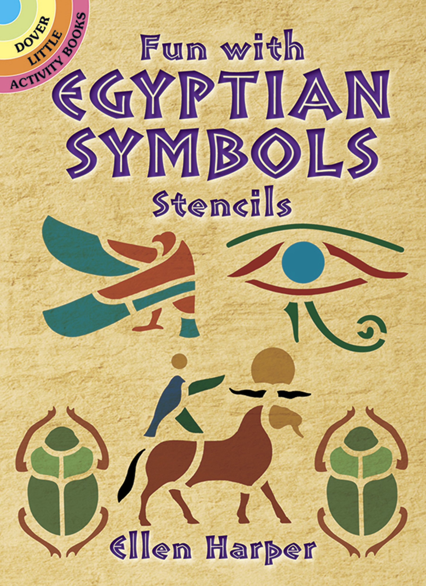 Fun with egyptian symbols stencils dover stencils ellen harper fun with egyptian symbols stencils dover stencils ellen harper 0800759431090 amazon books buycottarizona Images