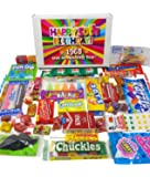 50th Birthday Nostalgic Candy Assortment Gift Box for 1968