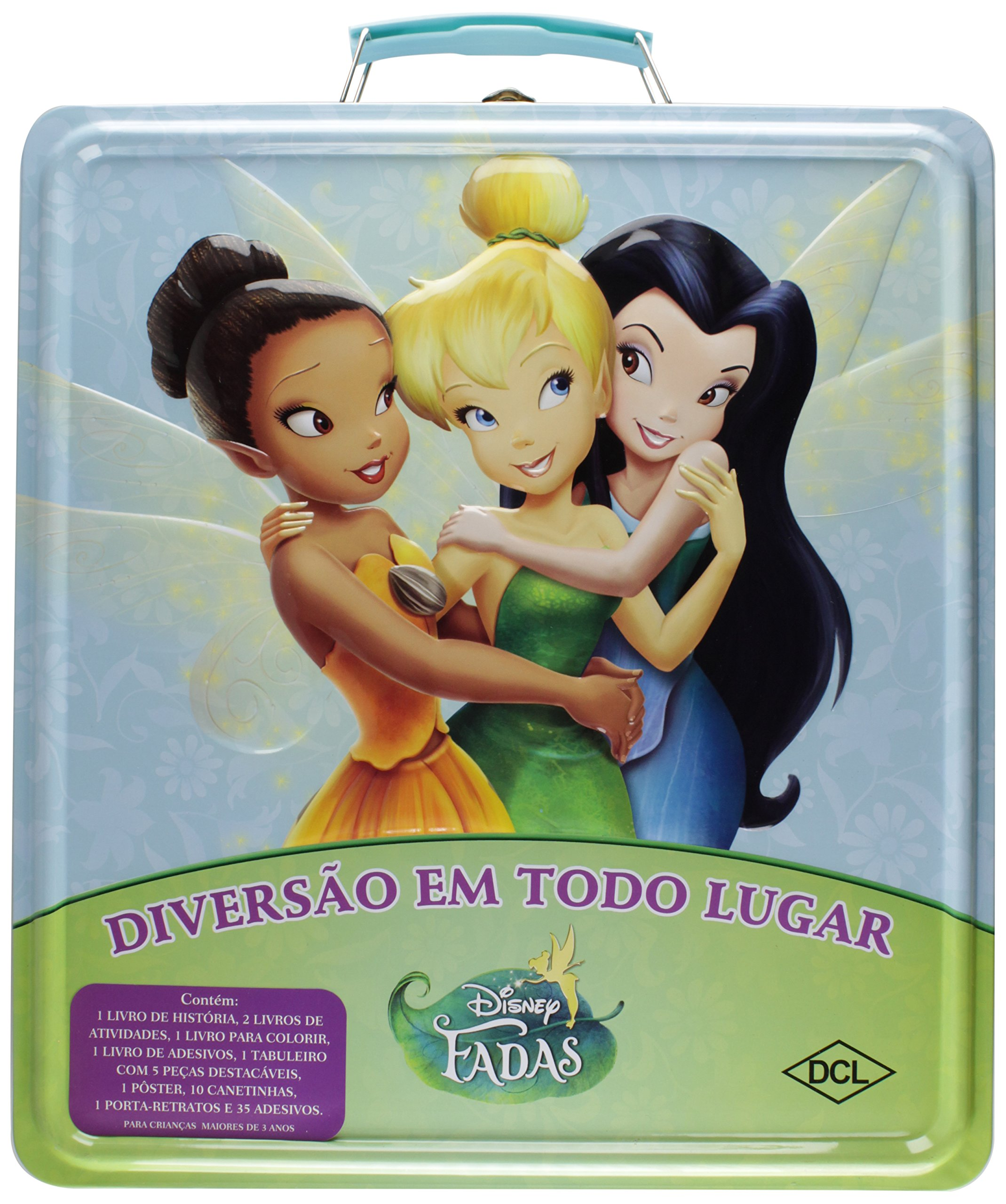 Maleta. Fadas (+ Giz De Cera) (Portuguese Brazilian) Book Supplement – 2012