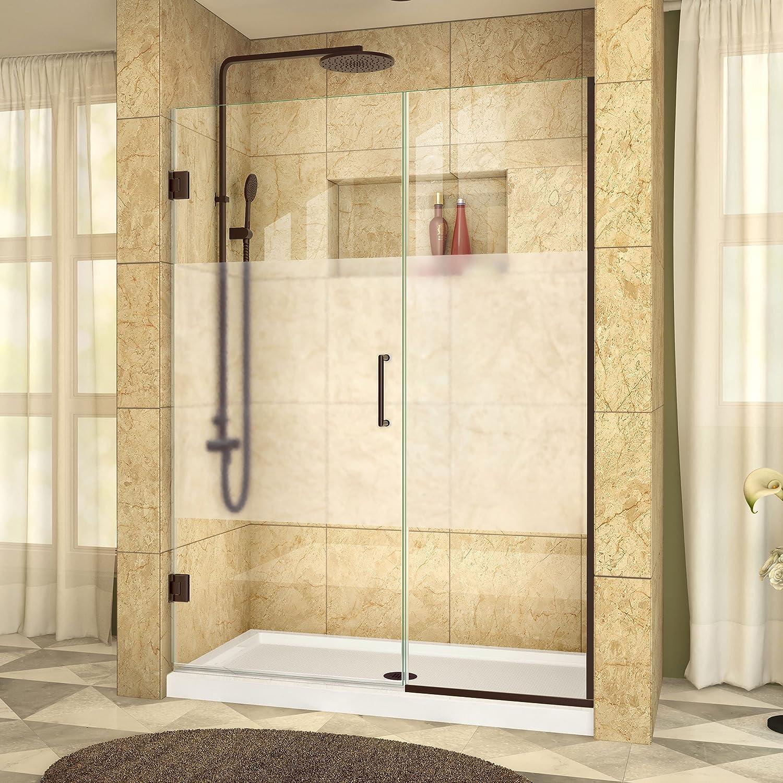 DreamLine SHDR-244707210 – 01 Unidoor Plus con bisagra para mampara de ducha: Amazon.es: Bricolaje y herramientas