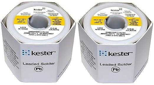 KESTER Lötzinn 32117 24–6040–0027 60/40 Ständer, 0,1 cm Durchmesser ...