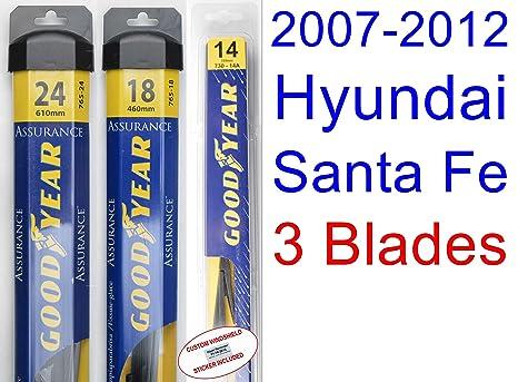 2007 - 2012 Hyundai Santa Fe hoja de limpiaparabrisas de repuesto ...