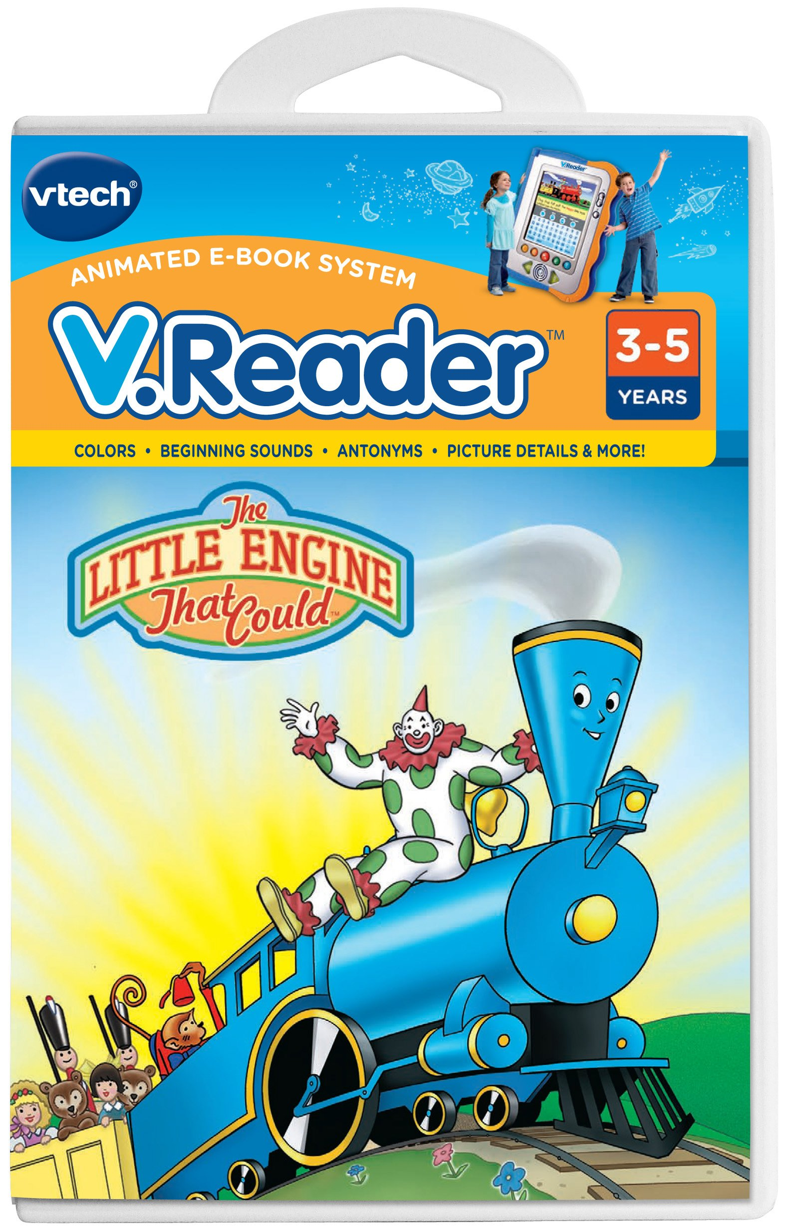 V.Reader Animated E-Book Cartridge - The Little Engine That Could by VTech (Image #1)