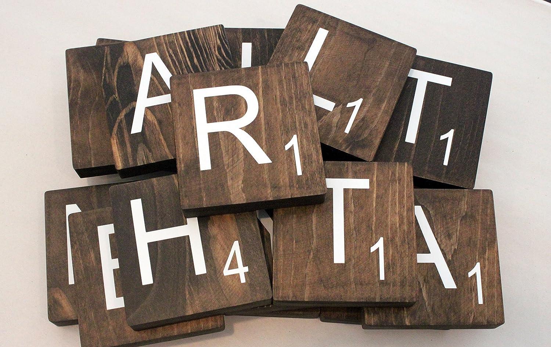 Large Scrabble Tile - Large Wood Scrabble Letter - 3.5 Tile