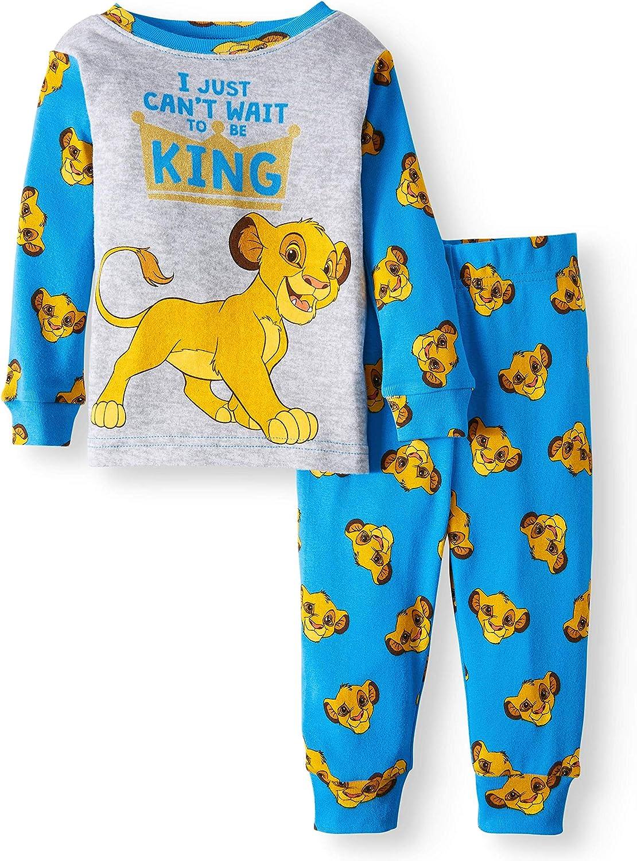 Disney Lion Guard Kion I Just Cant Wait to be King 2 Piece Baby Boys Sleepwear Pajama Set