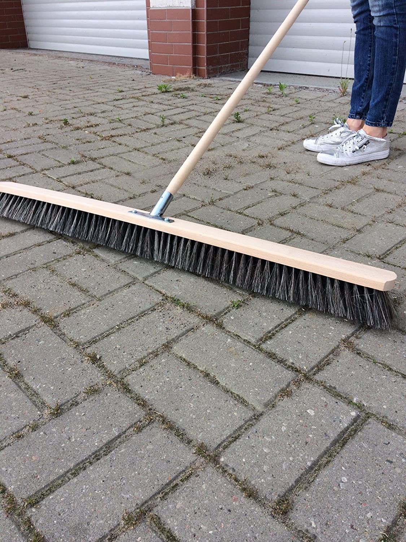 Via scopa 100 cm larghezza Scopa Scopa industriale sala libro con manico 150 cm laguz