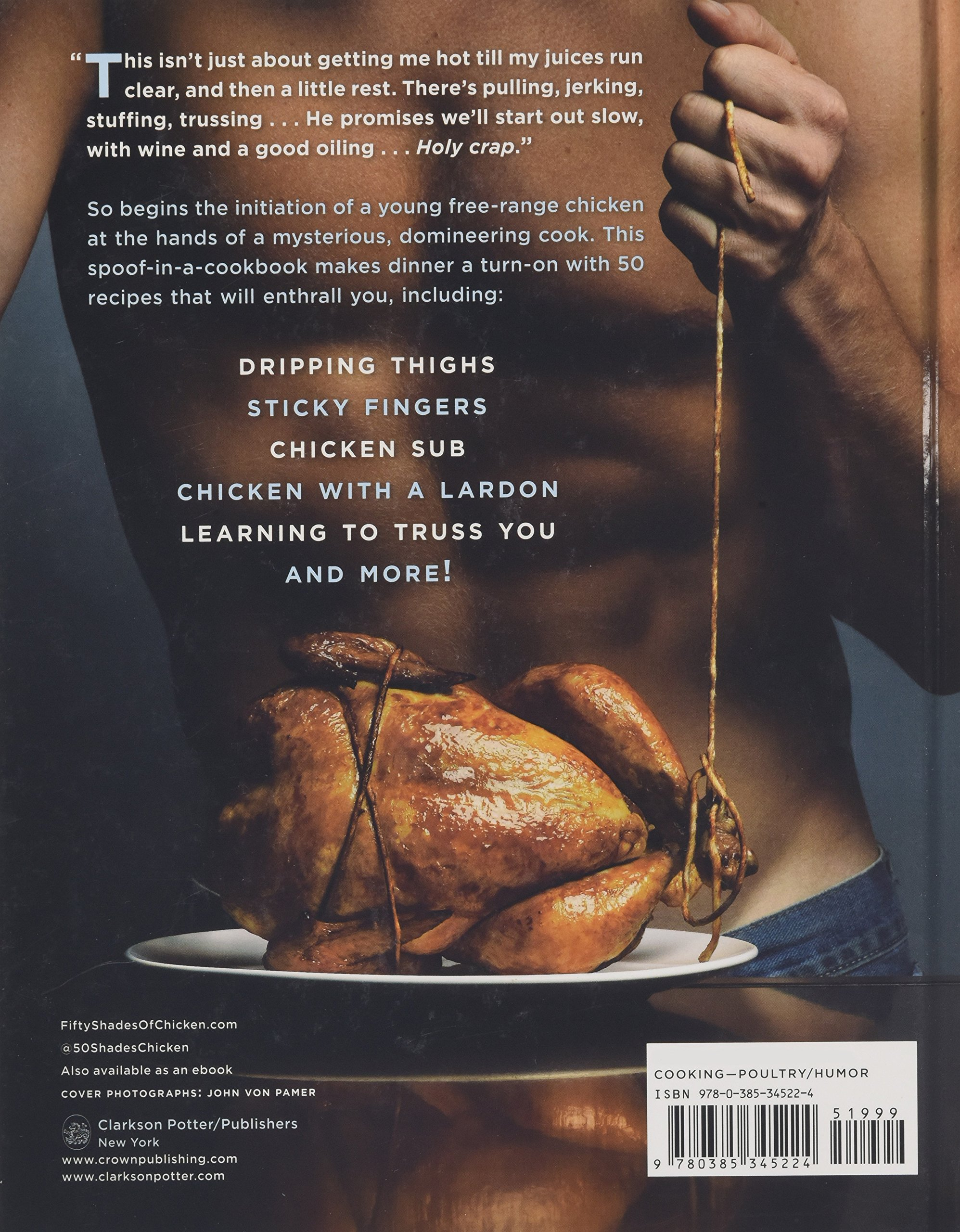 Fifty Shades Of Chicken: A Parody In A Cookbook: Fl Fowler:  0884713542718: Amazon: Books