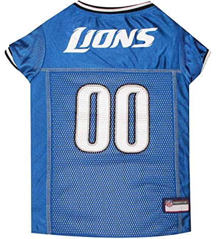7b5b5791e Amazon.com   NFL DETROIT LIONS DOG Jersey