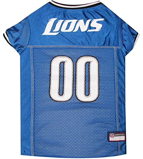 9ebfb2d95 Amazon.com   Pets First NFL Detroit Lions Jersey