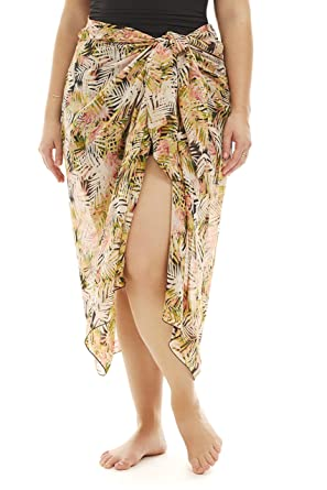 579e146c78963 Always For Me Women s Plus Size One Piece Pareo Sarong Skirt - Multi Summer  Dreams
