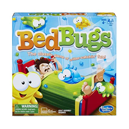 Amazon Com Bed Bugs Game Hasbro Toys Games