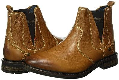 1ff1c81fb710 Wrangler Herren Roll Leather Chelsea Boots, Braun (66 Nut), 43 EU  Amazon.de   Schuhe   Handtaschen